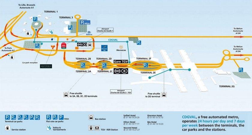Схема терминалов шарль де голь фото 89